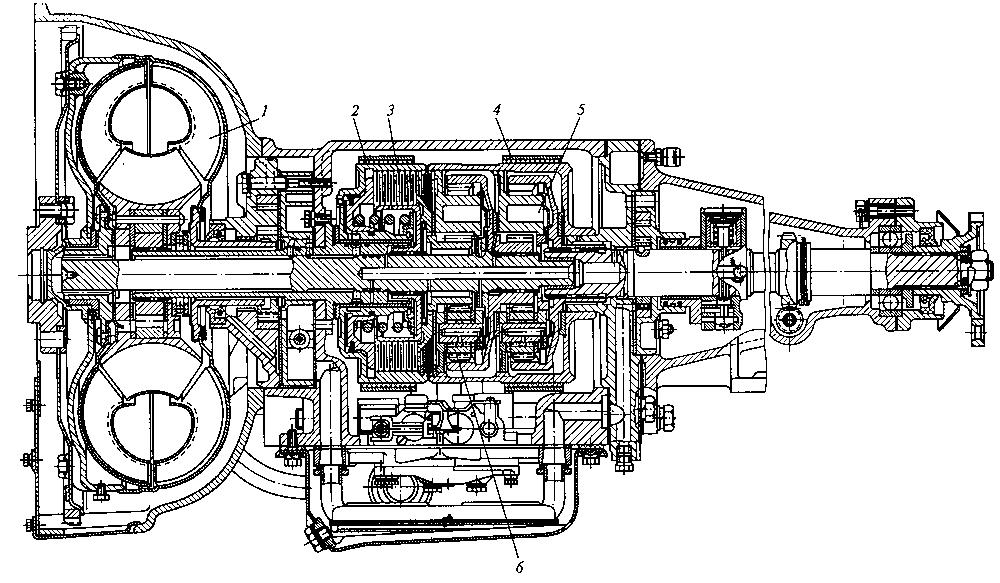 Гидромеханическая коробка